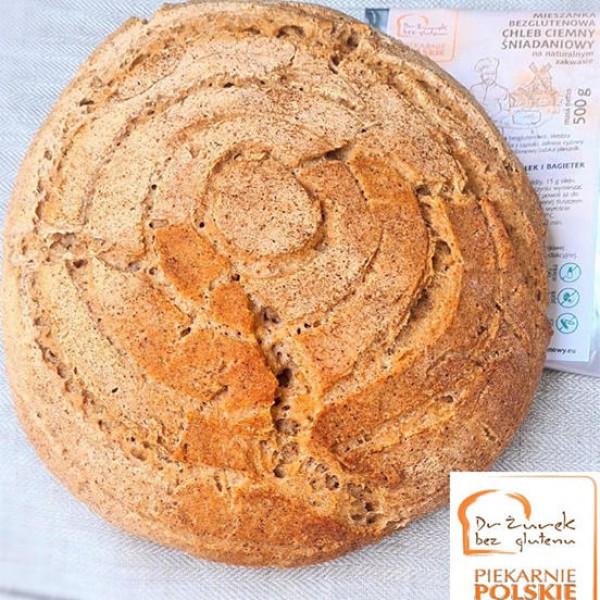 Okrągły chleb bezglutenowy