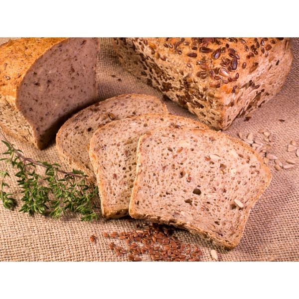 Multigrain gluten-free bread for breakfast 400g